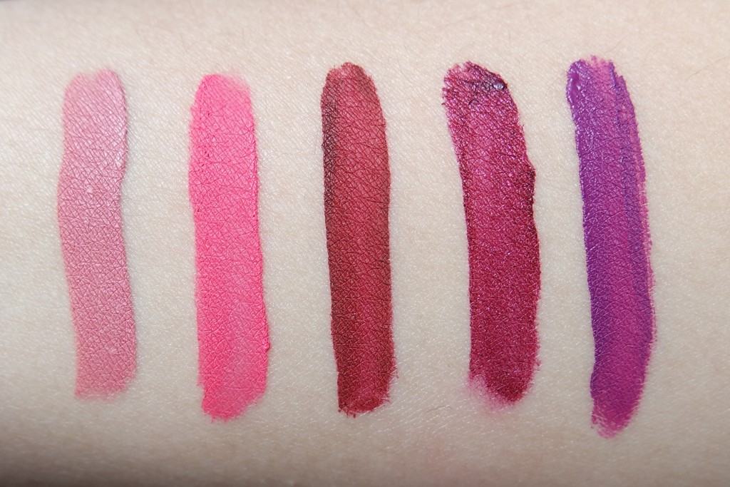 ABH Liquid Lipstick Swatches