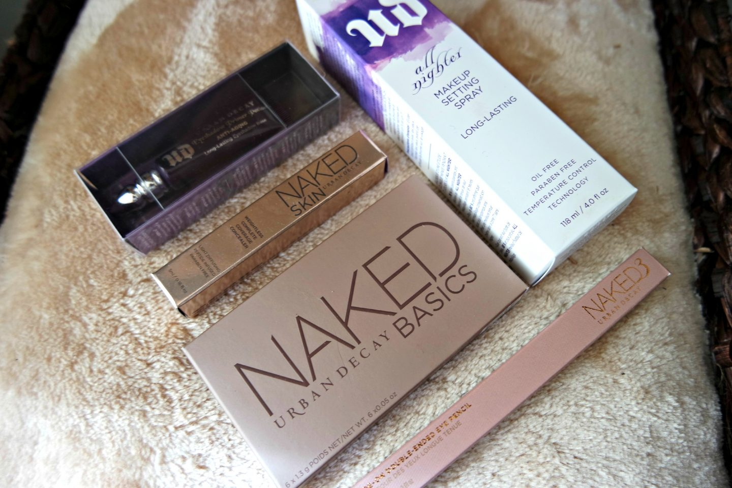 Urban Decay Haul + Make-up Look