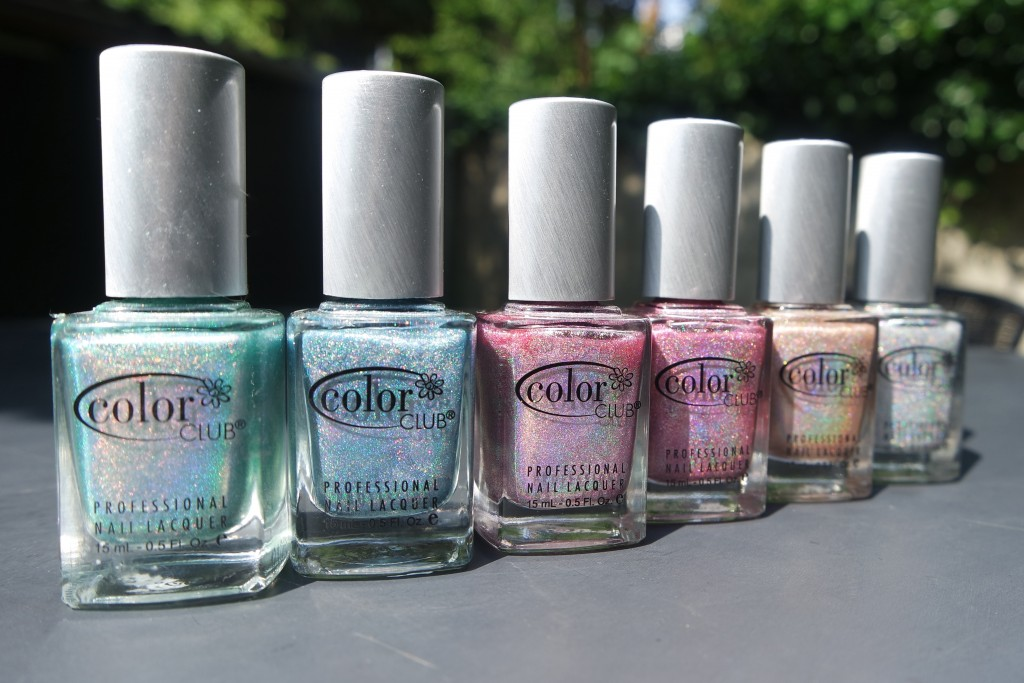 My Favorite Holographic Nail Polishes Are The Color Club Halo Hues There Twelve