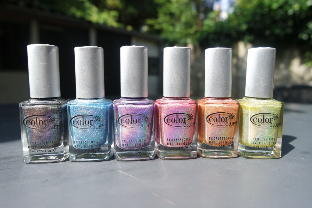 Color Club Halo Hues - 2013 Collection - The Beautynerd