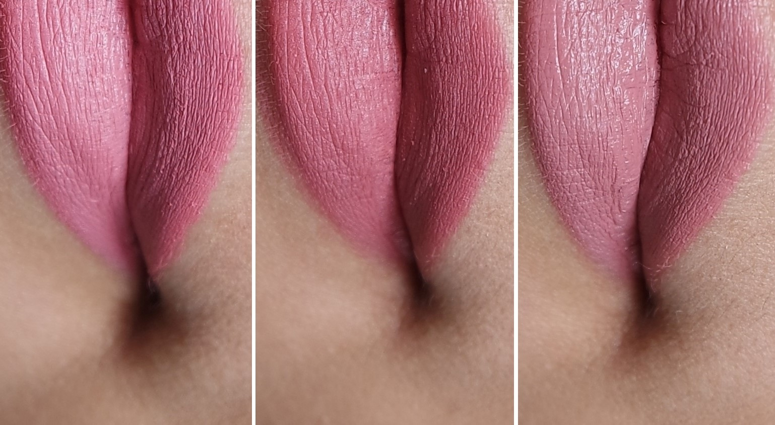 MAC lipstick: honey love, velvet teddy, & taupe   new ...  Mac Pink Plaid Vs Please Me