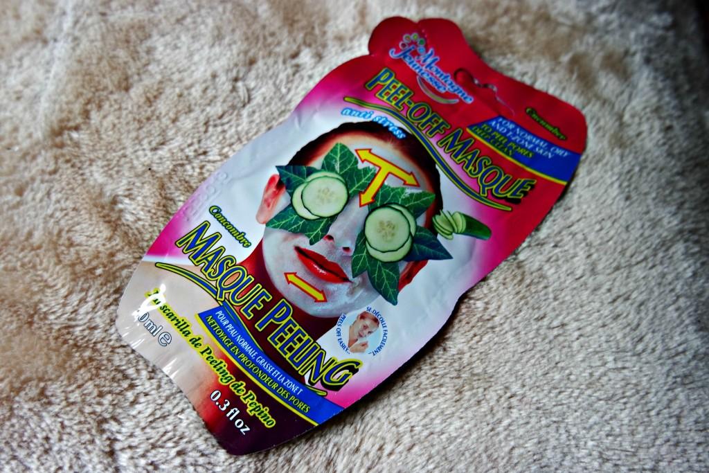 01 Montagne Jeunesse Cucumber Peel-off Mask