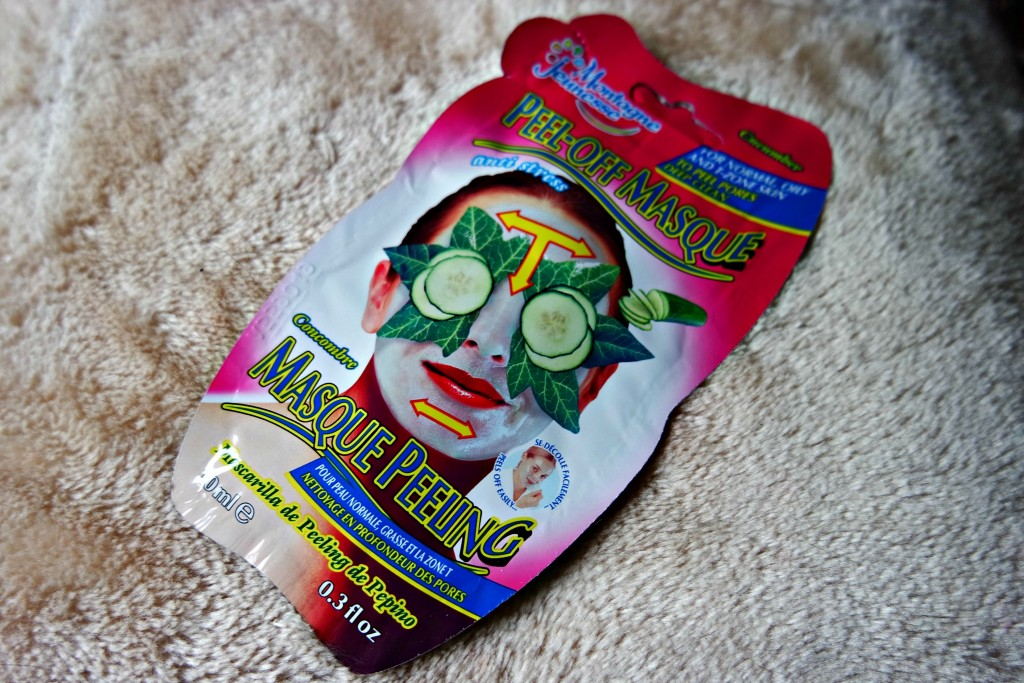 02 Montagne Jeunesse Cucumber Peel-off Mask