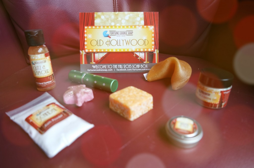 Fortune Cookie Soap Fall Box