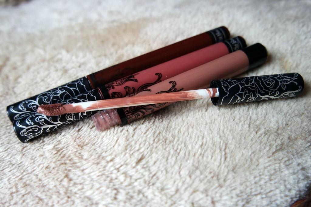 KvD Everlasting Liquid Lipsticks - Bow N Arrow, Lolita and Vampira ...