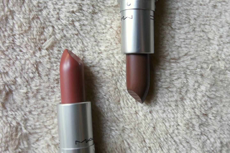 MAC Whirl and Stone Lipsticks