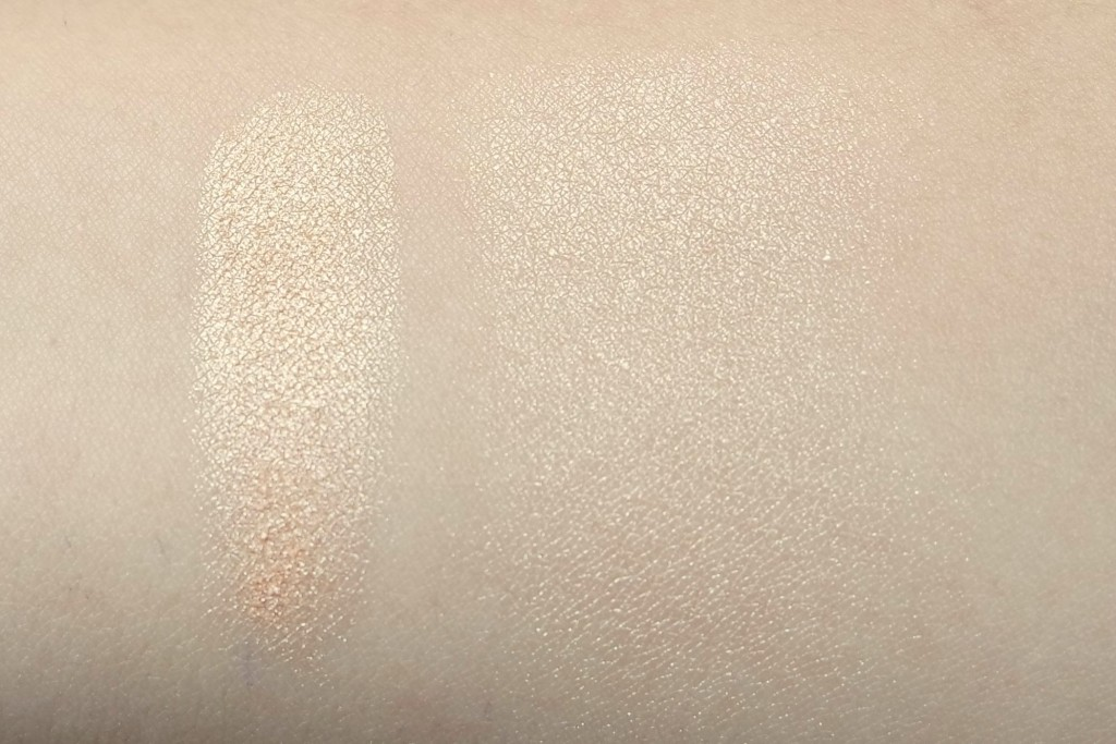 Becca Champagne Pop Swatches