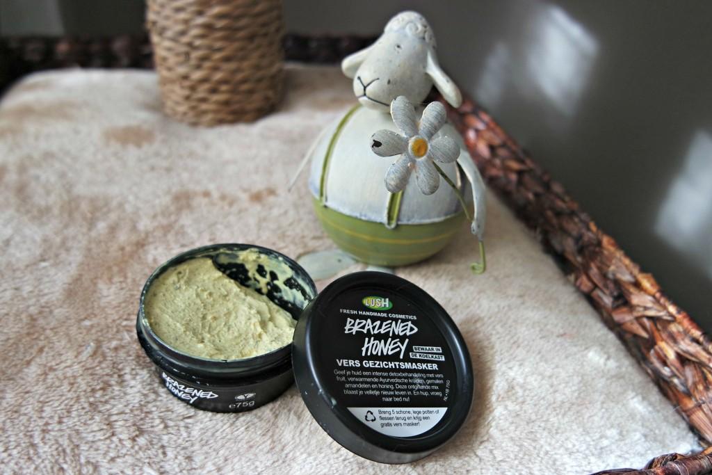 Lush Brazened Honey Mask