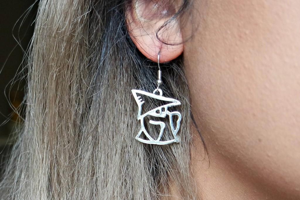 Gamer Girl Monthly October 15 Black Mage Earring