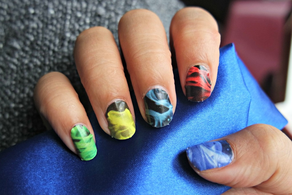 Gamer Girl Monthly October 15 Elements Nail Wraps