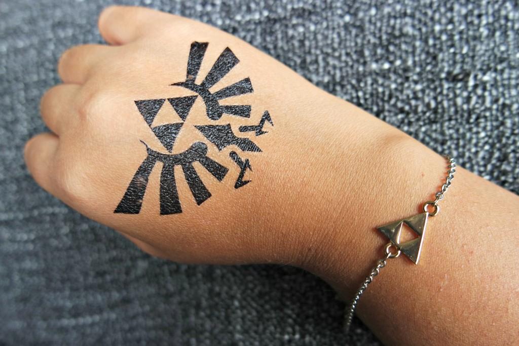 Gamer Girl Monthly October 15 Zelda Tattoo Armband 2