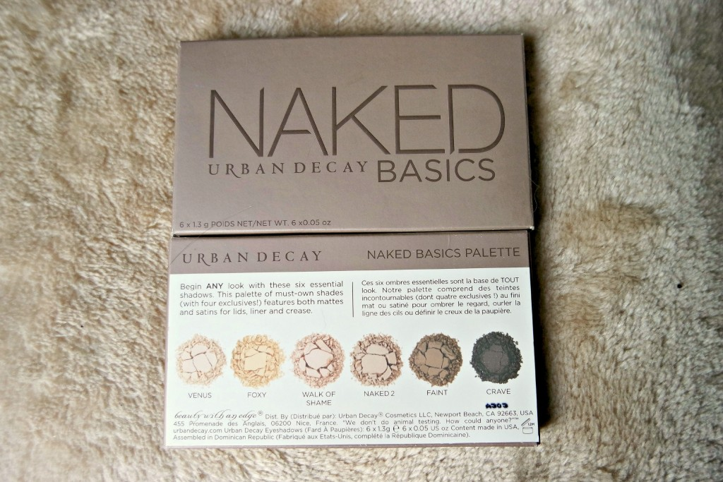 UD Naked Basics Front Back Packaging