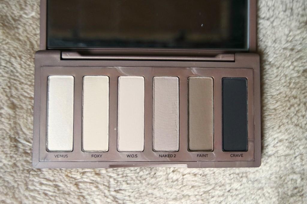 UD Naked Basics Palette Shades