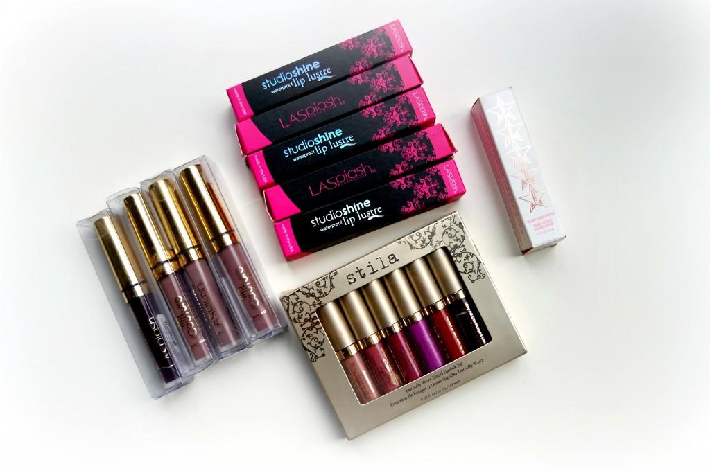 December Beauty Haul Lipsticks 01