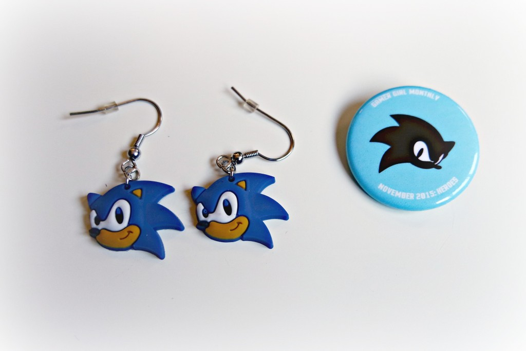 Sonic Hedgehog Earrings 01