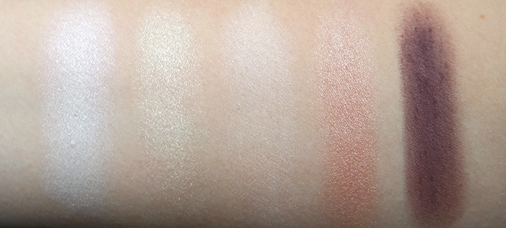 Urban Decay Gwen Stefani 1st Row Swatches