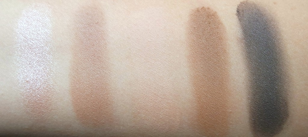 Urban Decay Gwen Stefani 2nd Row Swatches