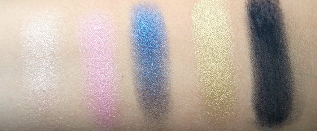 Urban Decay Gwen Stefani 3rd Row Swatches