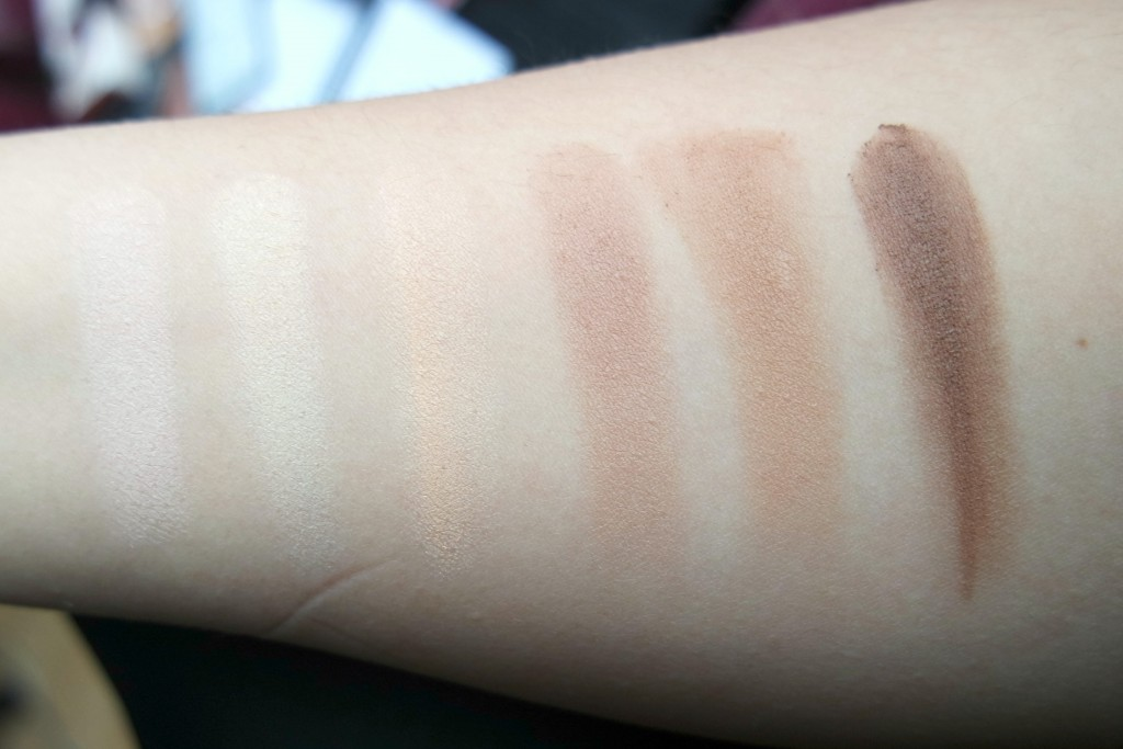 Kat von D Shade Light Contour Palette Swatches
