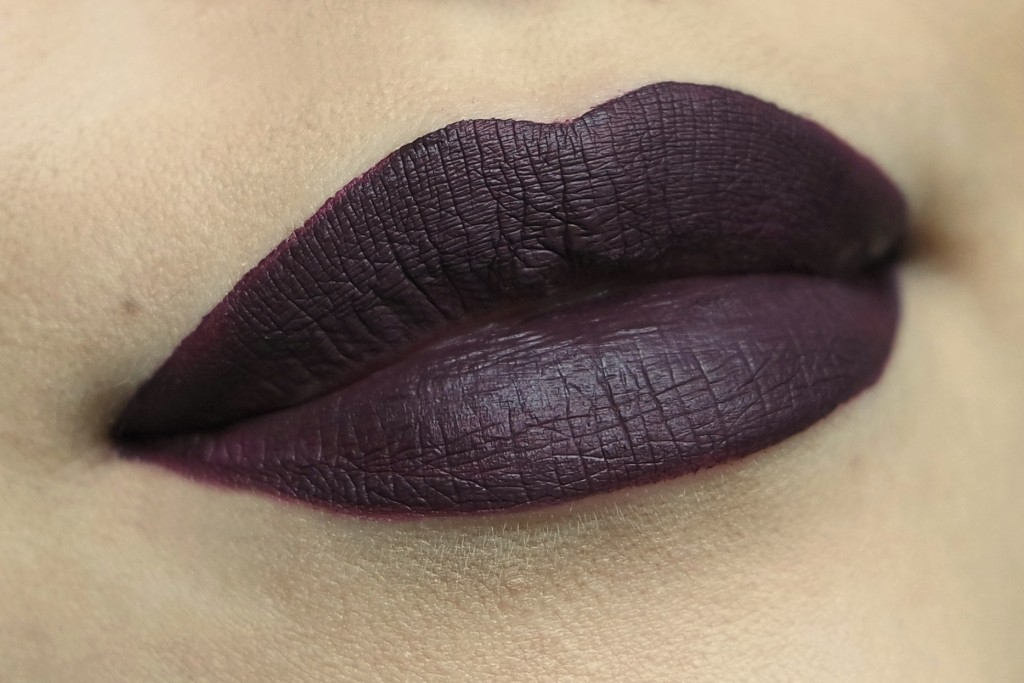 LA Splash Malevolent Lip Swatch