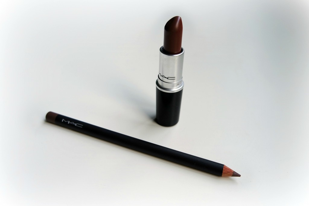 MAC Stone Lipstick and Pencil 01