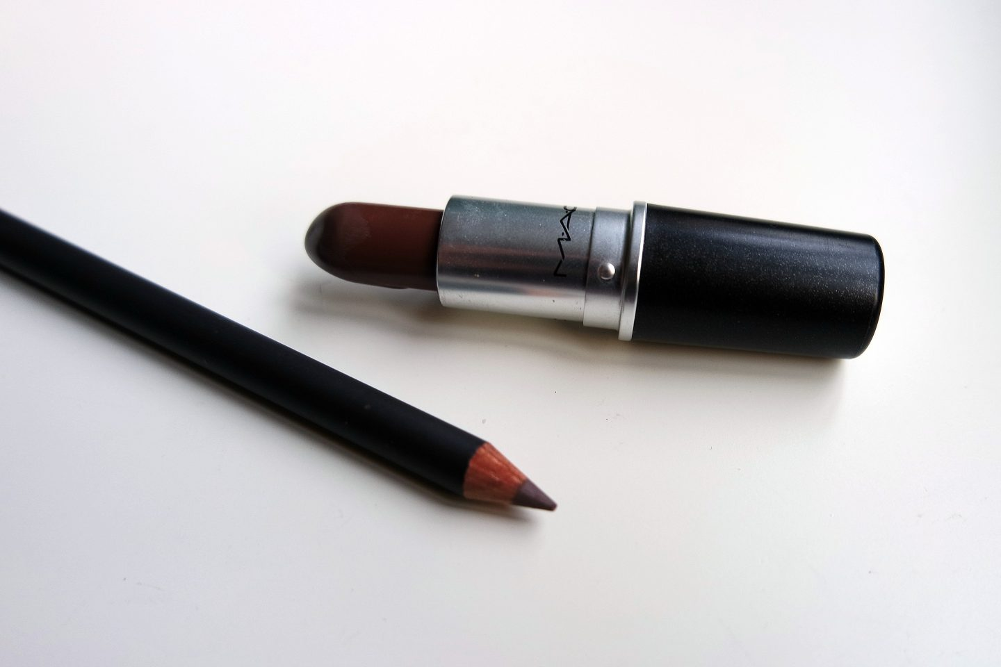 MAC Stone Lipstick and Pencil