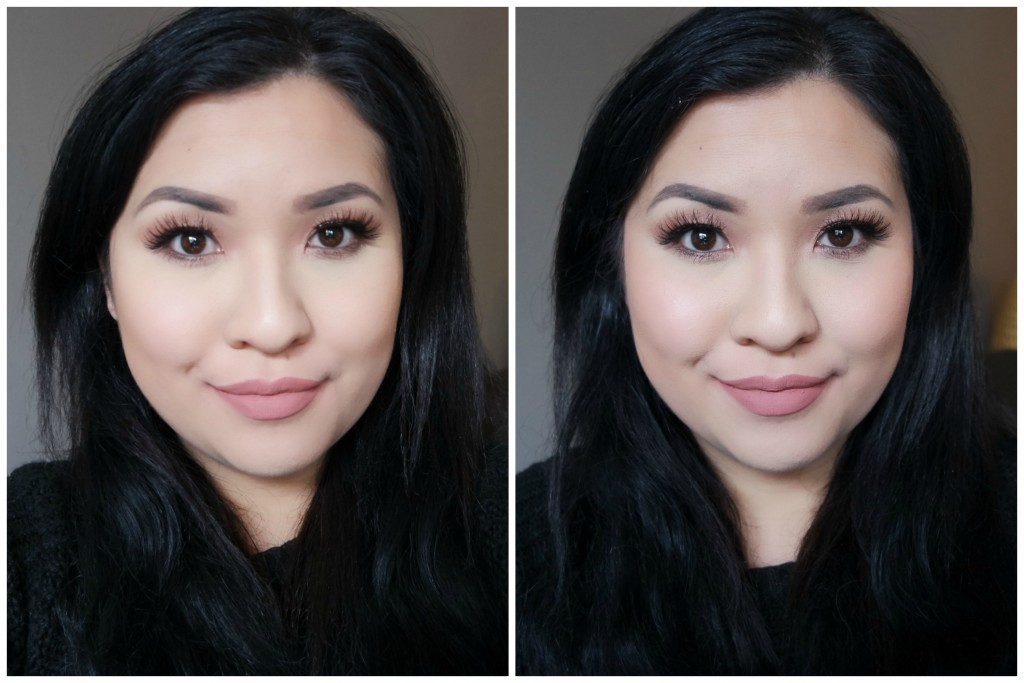 Before After - Benefit Coralista 01