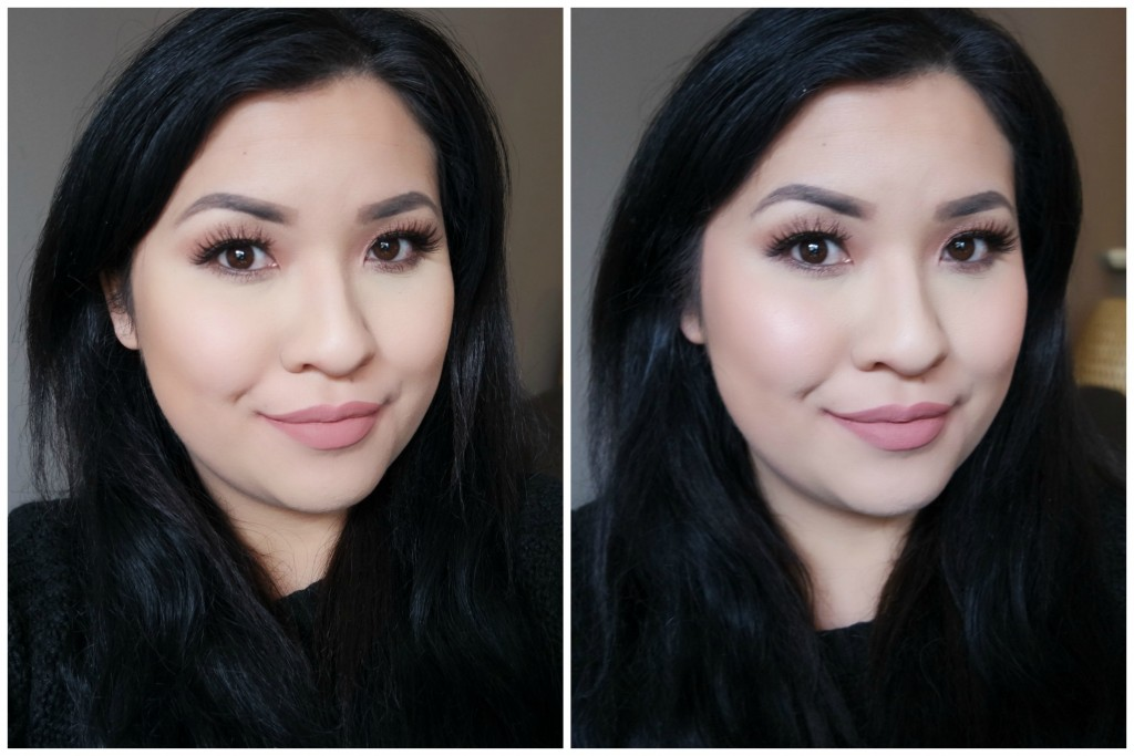 Before After - Benefit Coralista 02