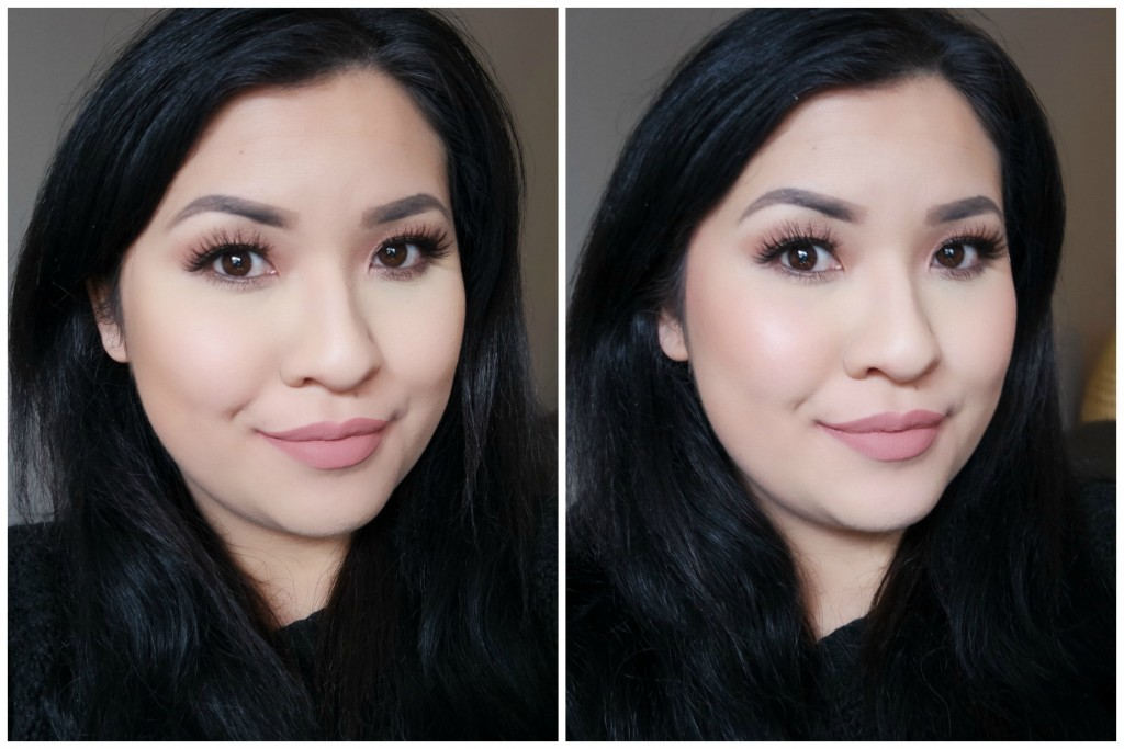 blush before and after. before after - benefit rockateur 01 02 blush and p
