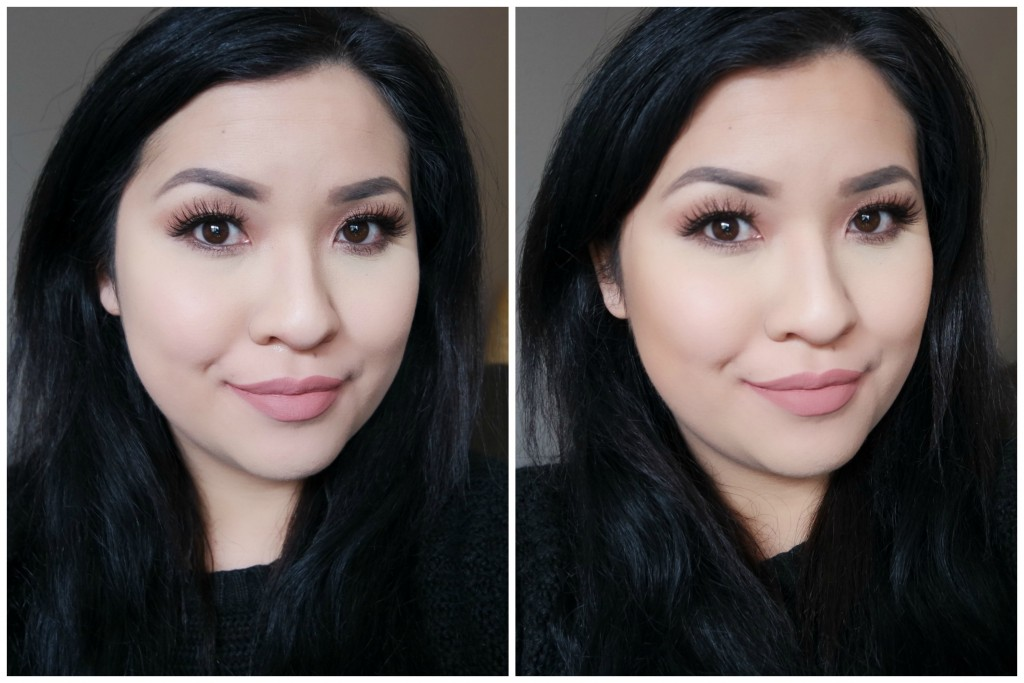 bronzer before and after. before after - hoola bronzer 01 02 and a
