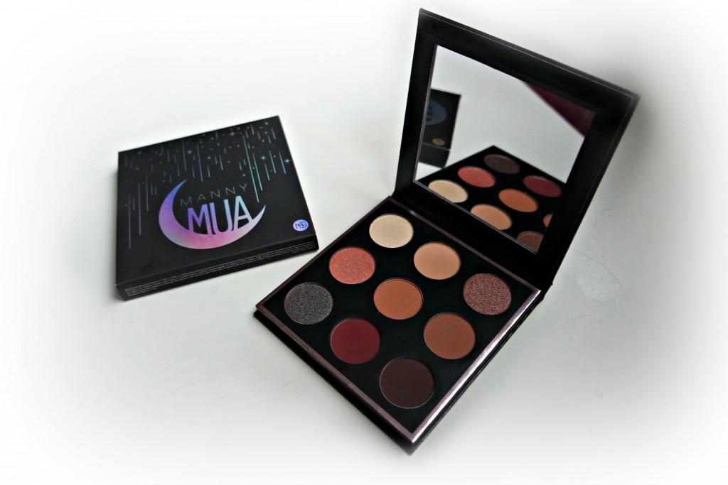 MannyMUA x Makeup Geek Palette 09