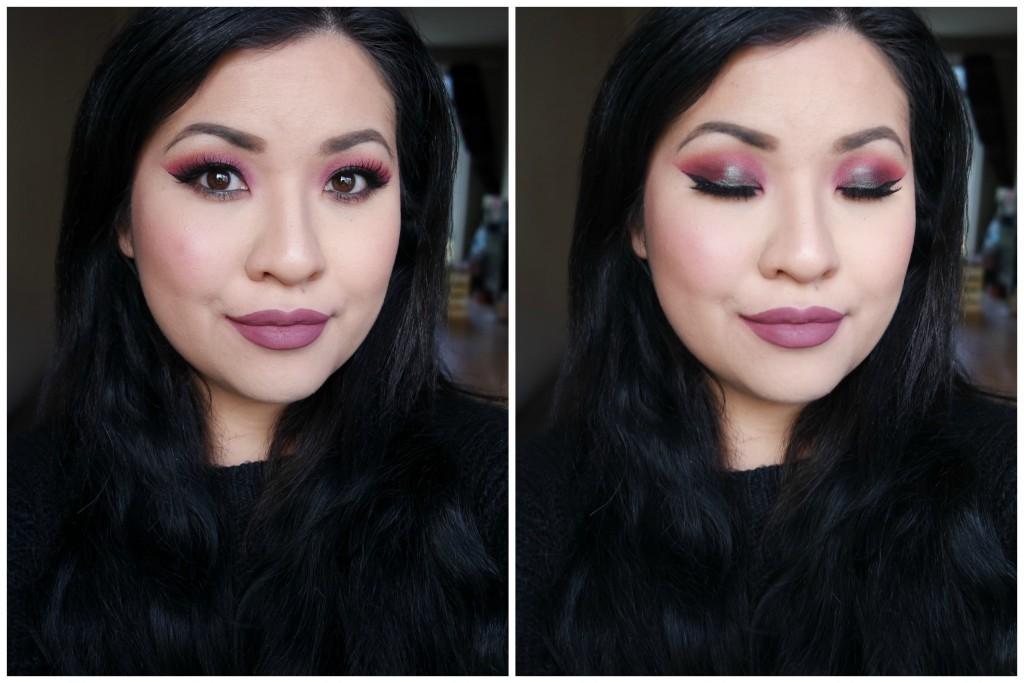 MannyMUA x Makeup Geek Palette Bold Look