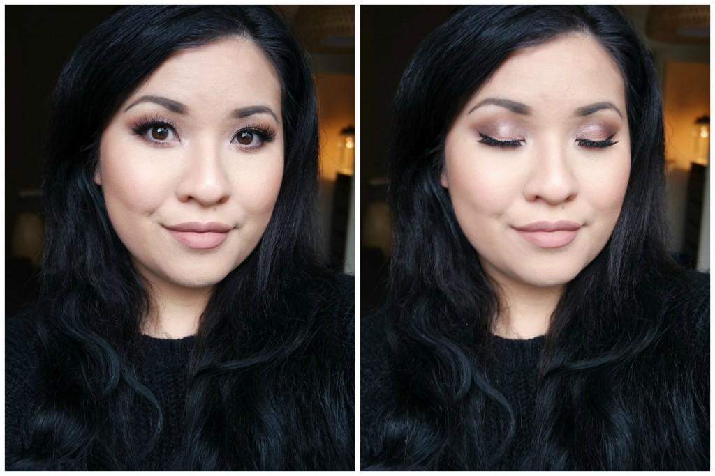 MannyMUA x Makeup Geek Palette Neutral Look