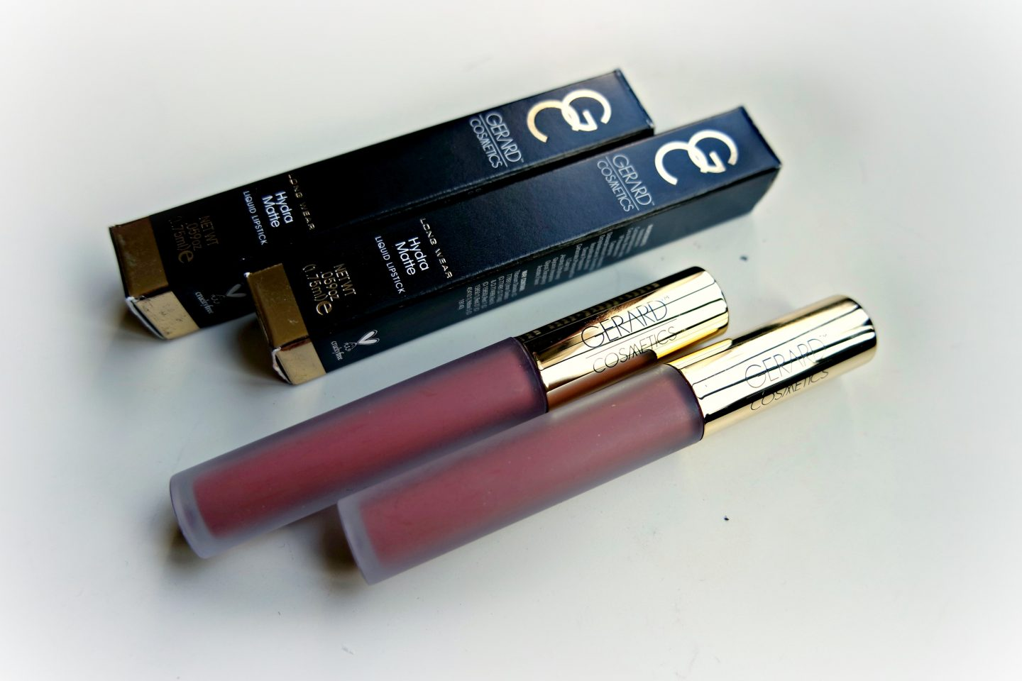 Gerard Cosmetics Hydra Matte Liquid Lipstick in 1995 and Everything Nice