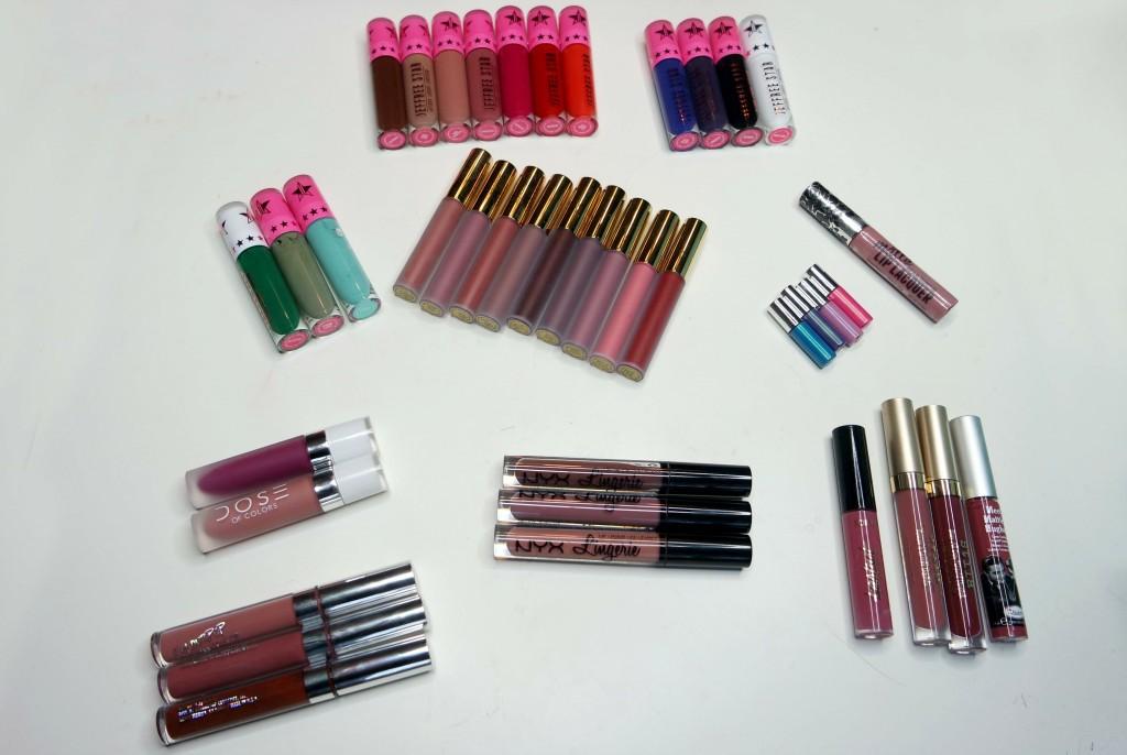 Liquid Lipstick Haul 01