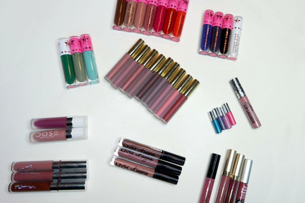 Liquid Lipstick Haul 02