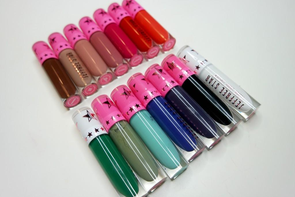Liquid Lipstick Haul - Jeffree Star
