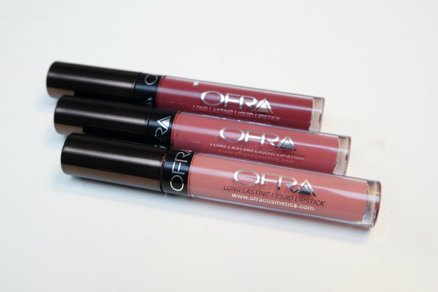 Manny x Ofra Liquid Lipsticks in Aries, Charmed and Hypno