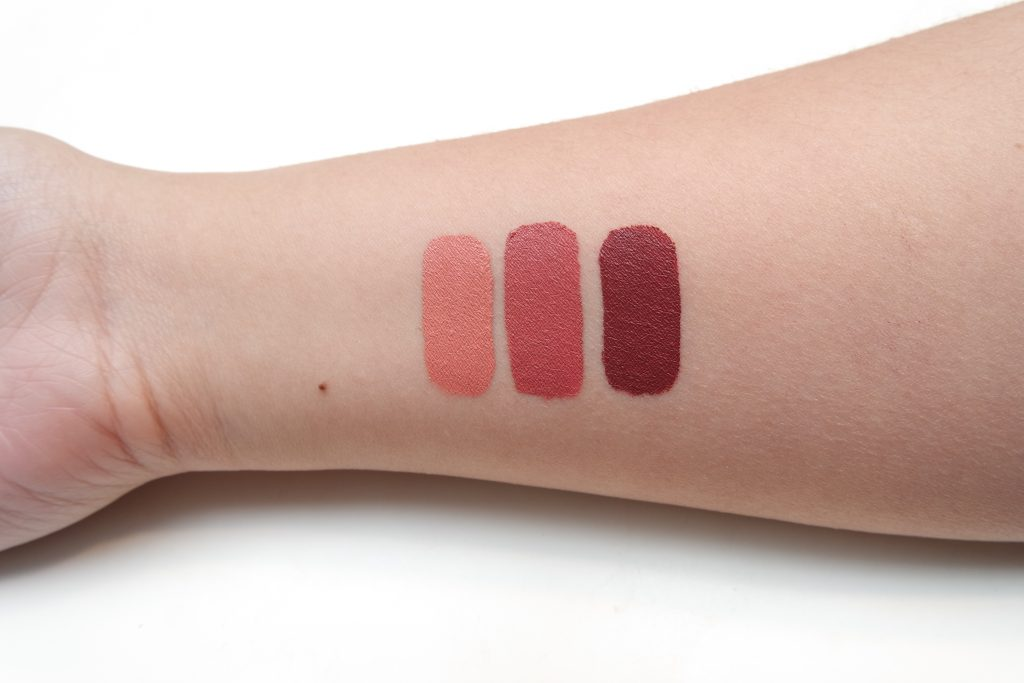 MANNY X OFRA Liquid Lipstick Swatches