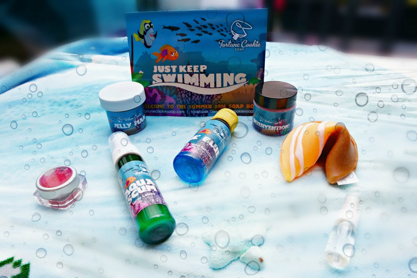 Fortune Cookie Soap Box Summer 2016