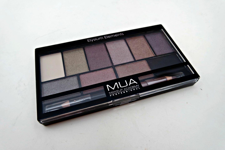MUA Elysium Elements Eyeshadow Palette