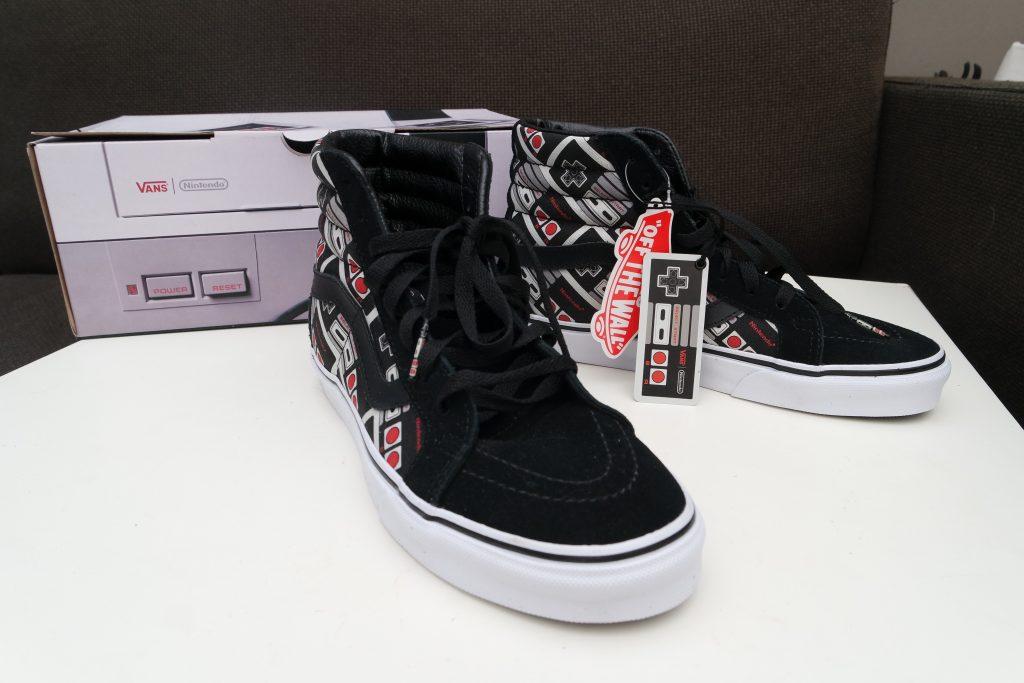 Vans x Nintendo Controller SK8-Hi Reissue Shoes 03