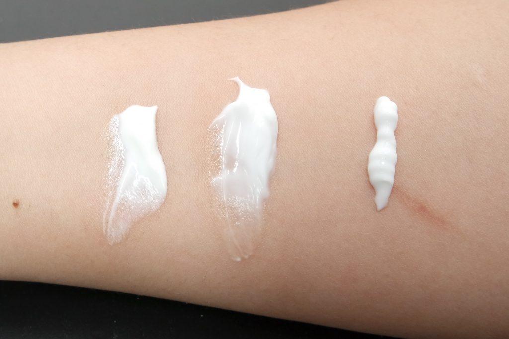 Etos Skincare Normale Huid Swatches