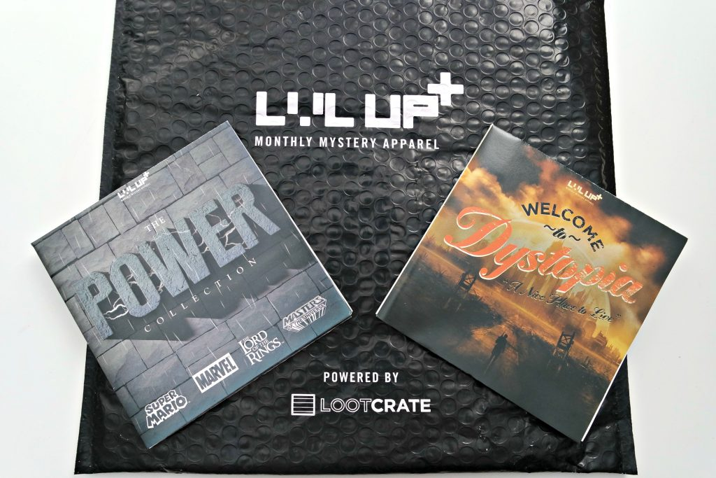 Loot crate lvl up socks may 2016 power june dystopia