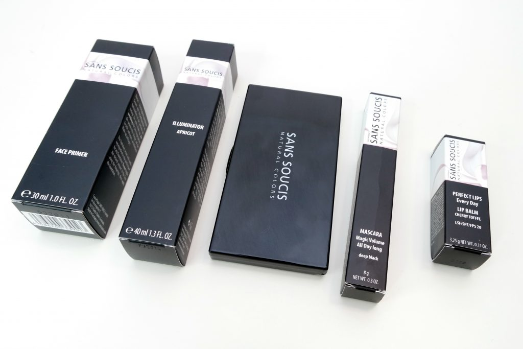 Sans Soucis Makeup Packaging