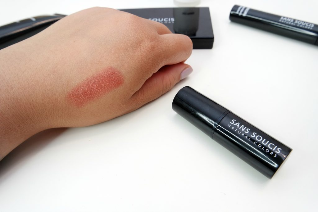 Sans Soucis Perfect Lips Every Day Lip Balm in Cherry Toffee Swatch