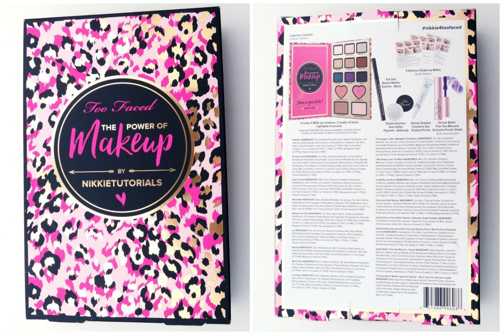 Toofaced x Nikkietutorials The Power of Makeup Palette 02