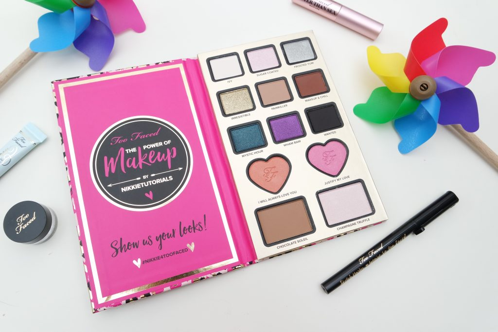 Toofaced x Nikkietutorials The Power of Makeup Palette Look 09