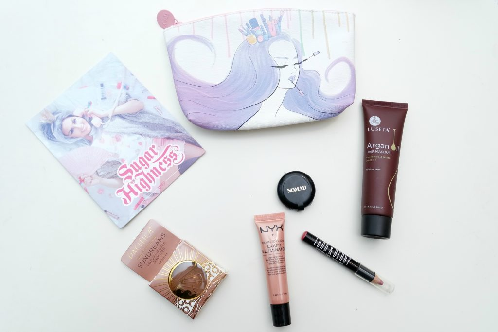 Ipsy Glam Bag - August 2016 Sugar Highness 04