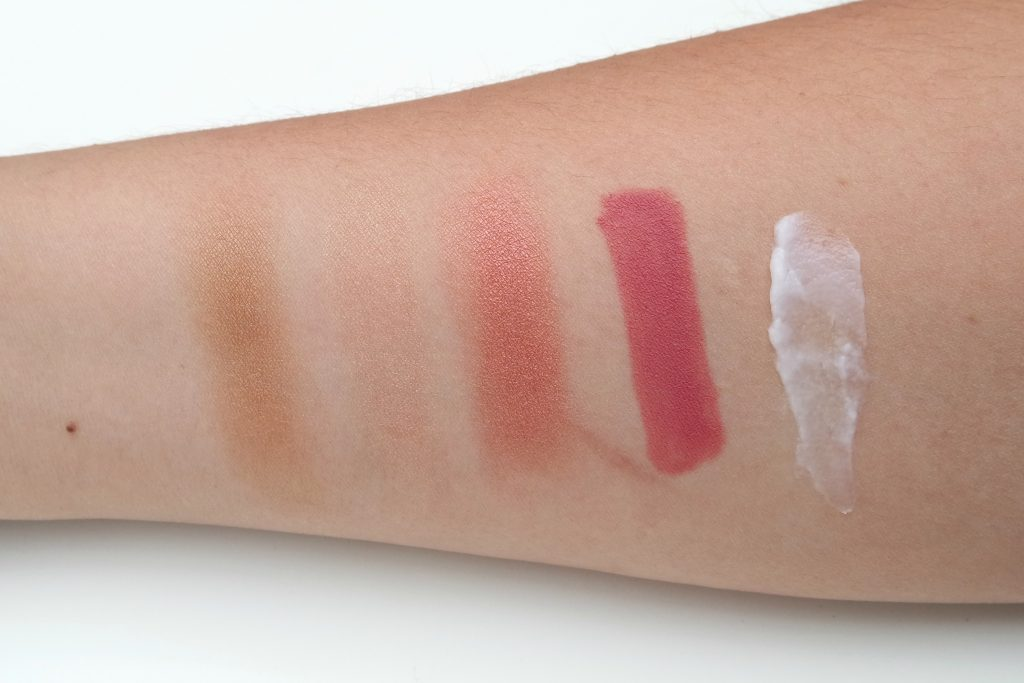 Ipsy Glam Bag - August 2016 Sugar Highness Swatches